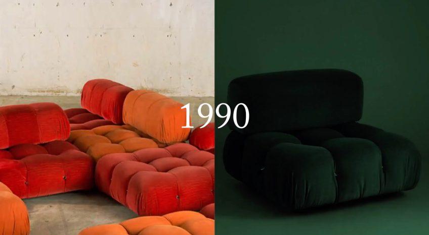 Camaleonda Classic Sofa Collection B&B Italia - Mario Bellini - 1990