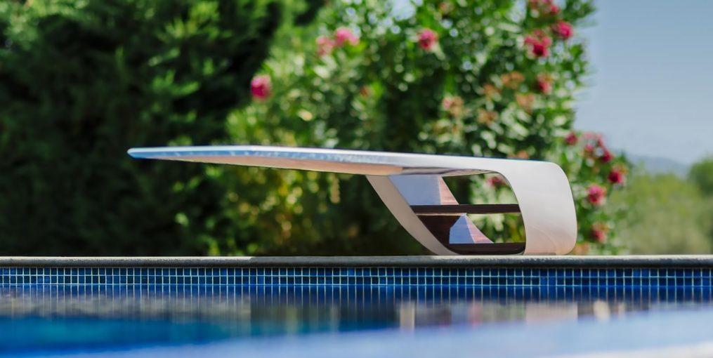Gracie Bird Bespoke Luxury Carbon Fiber Diving Board by Molono