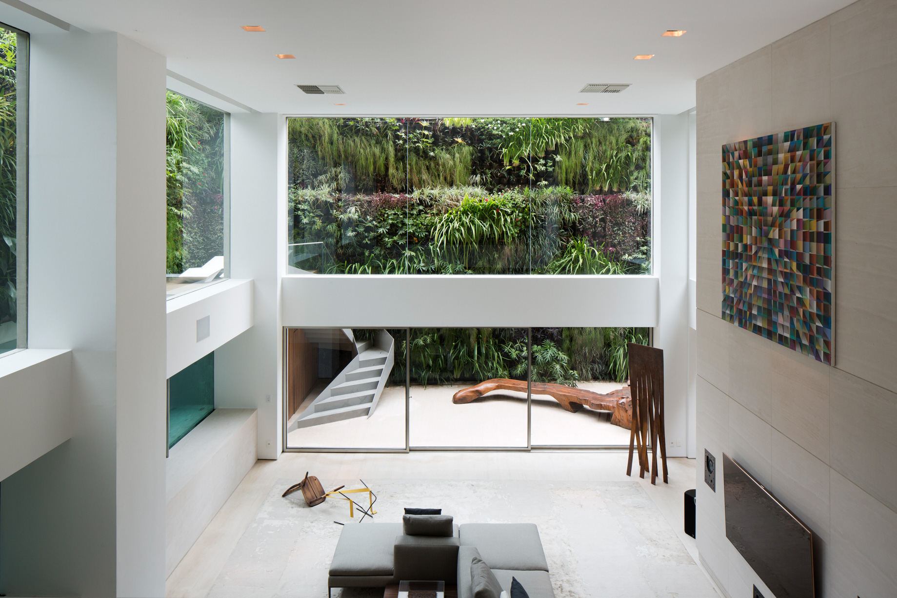 Panorama Swimming Pool House – Vila Nova Conceicao, Sao Paulo, Brazil