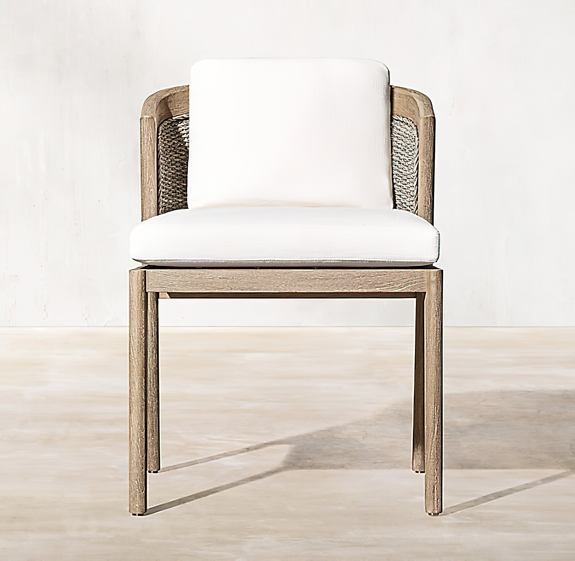 Malta Teak Collection Outdoor Furniture Design for RH – Ramon Esteve – Malta Teak Side Chair