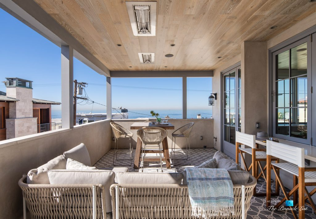 220 8th St, Manhattan Beach, CA, USA - Luxury Real Estate - Ocean View Dream Home - Outdoor Deck View