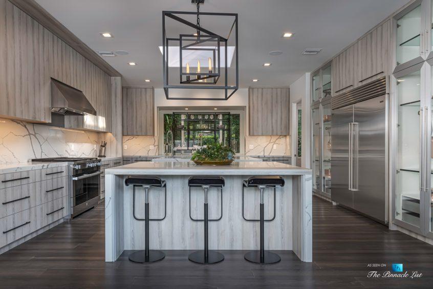 2720 Ellison Dr, Beverly Hills, CA, USA - Kitchen - Luxury Real Estate - Italian Villa Hilltop Home