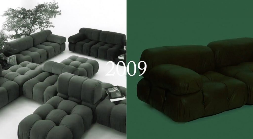 Camaleonda Classic Sofa Collection B&B Italia - Mario Bellini - 2009