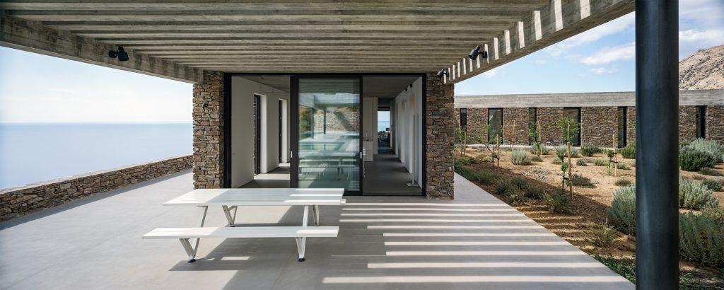Ring House Modern Contemporary Residence - Agia Galini, Crete, Greece