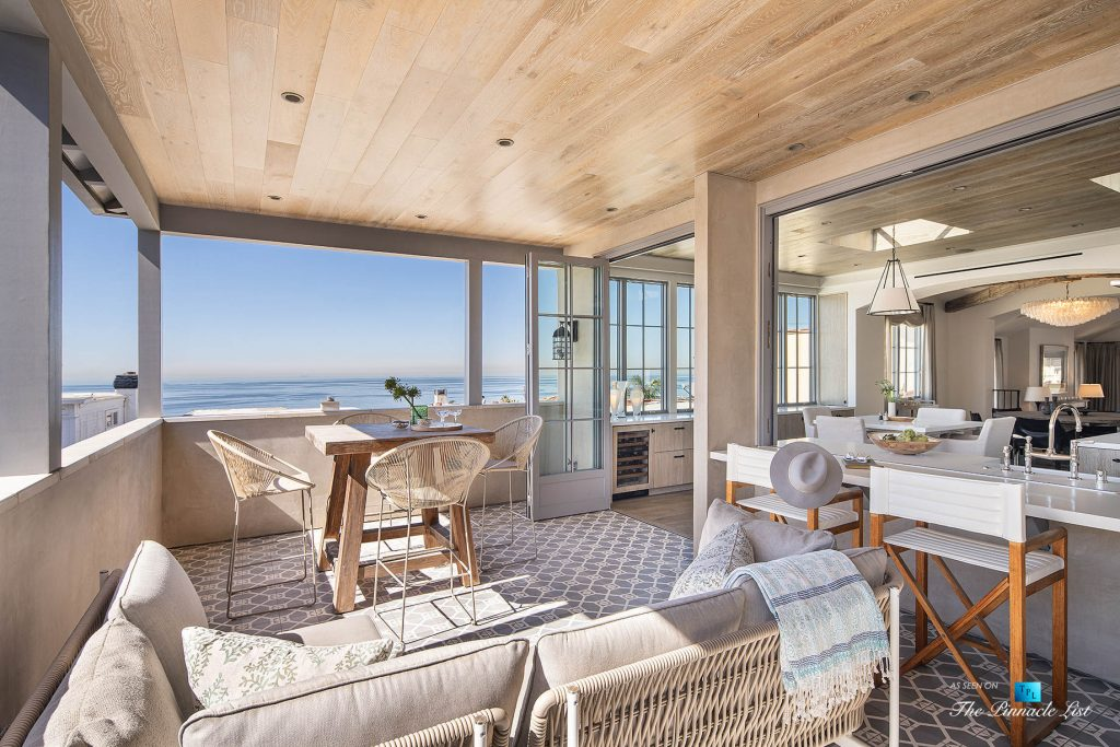 220 8th St, Manhattan Beach, CA, USA - Luxury Real Estate - Ocean View Dream Home - Outdoor Deck Lounge View