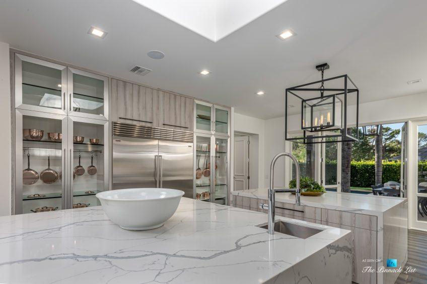 2720 Ellison Dr, Beverly Hills, CA, USA - Kitchen Island - Luxury Real Estate - Italian Villa Hilltop Home
