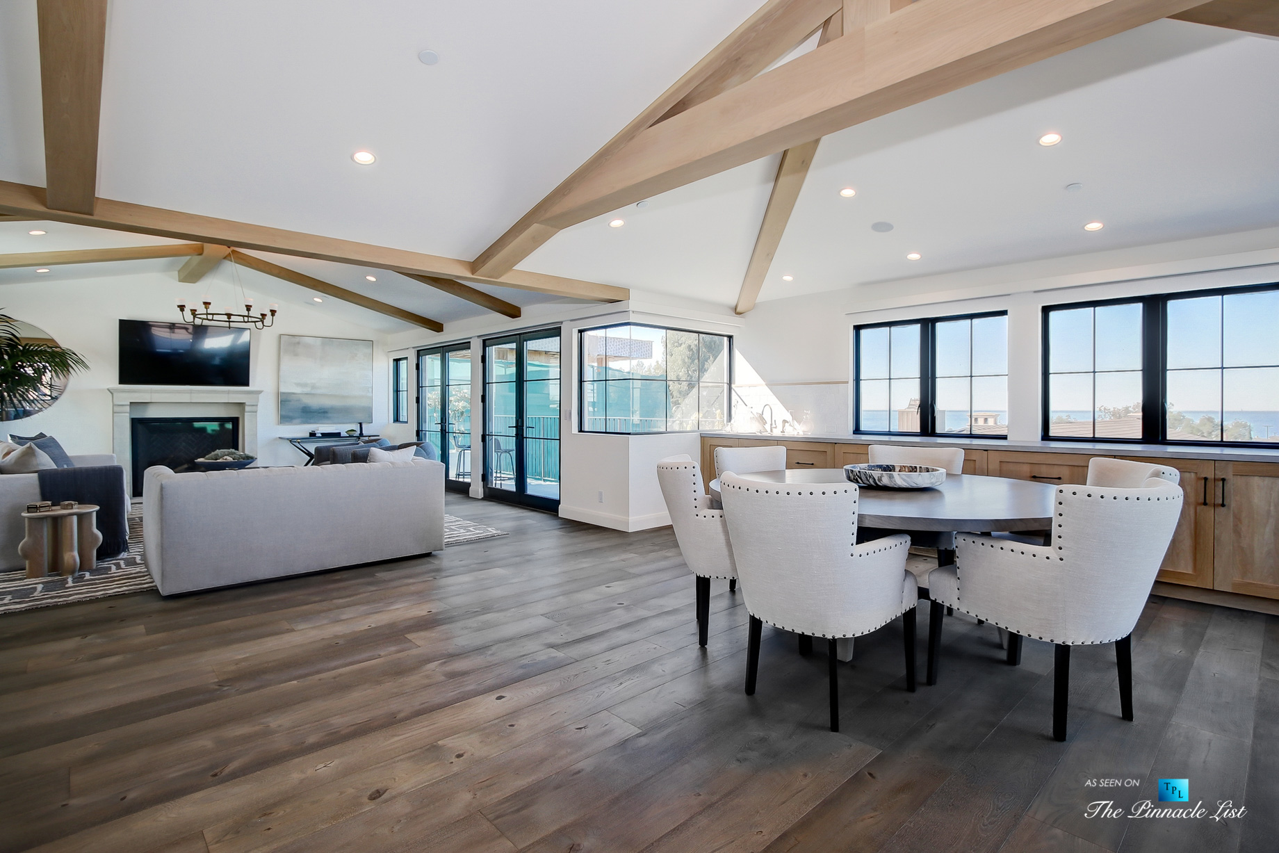825 Highview Ave, Manhattan Beach, CA, USA - Dining and Living Room - Luxury Real Estate - Modern Spanish Home