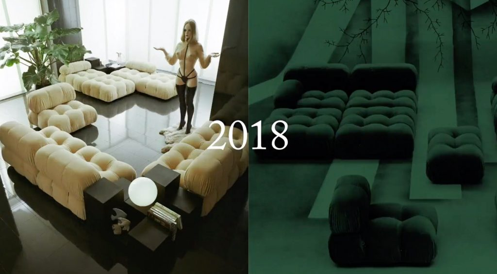Camaleonda Classic Sofa Collection B&B Italia - Mario Bellini - 2018