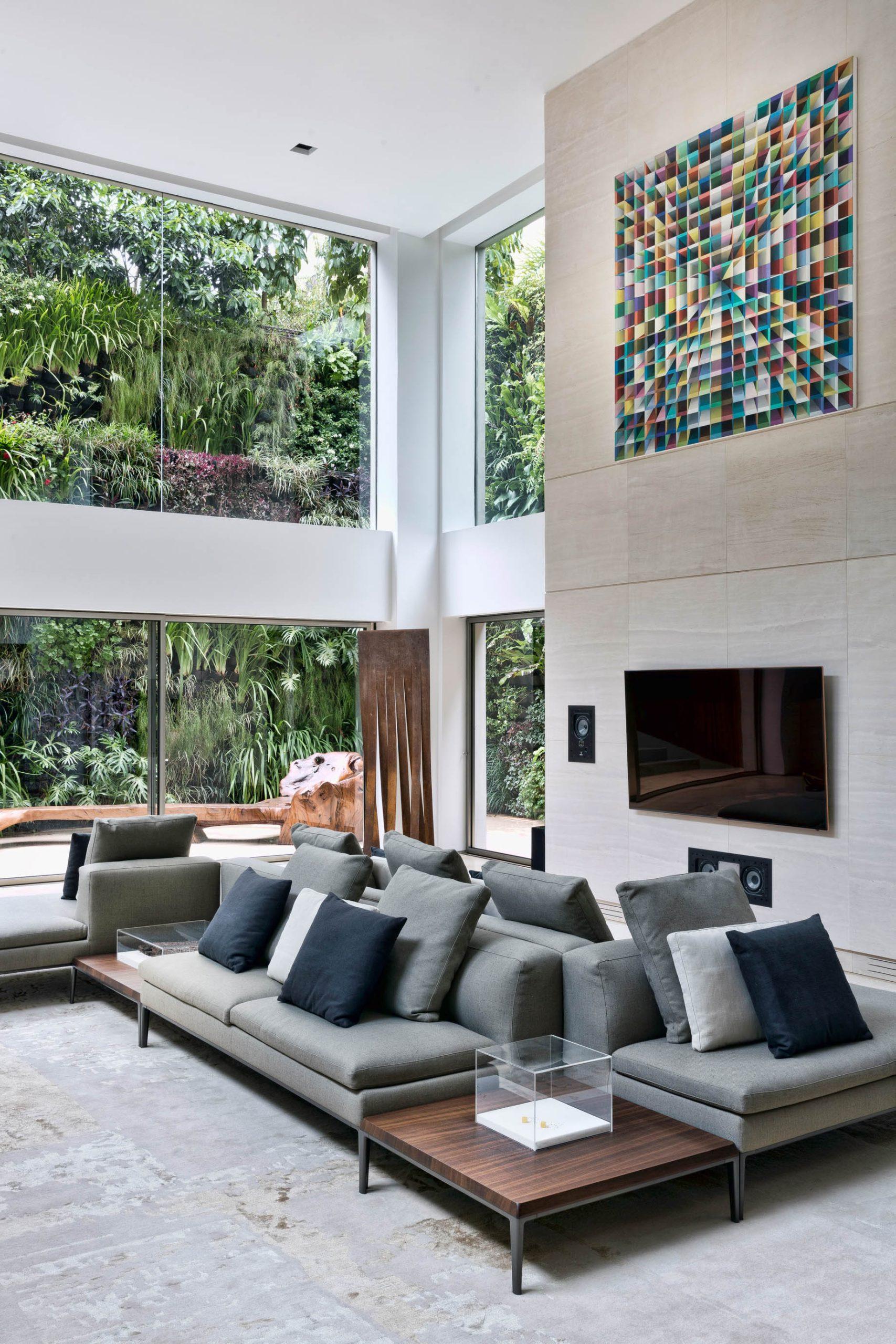 Panorama Swimming Pool House – Vila Nova Conceicao, Sao Paulo, Brazil