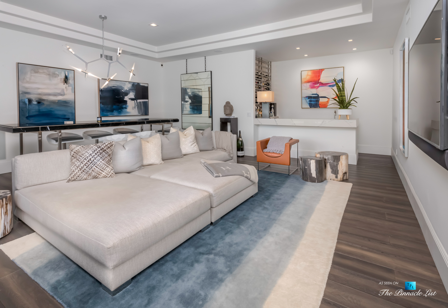2720 Ellison Dr, Beverly Hills, CA, USA – Recreation Room and Bar – Luxury Real Estate – Italian Villa Hilltop Home