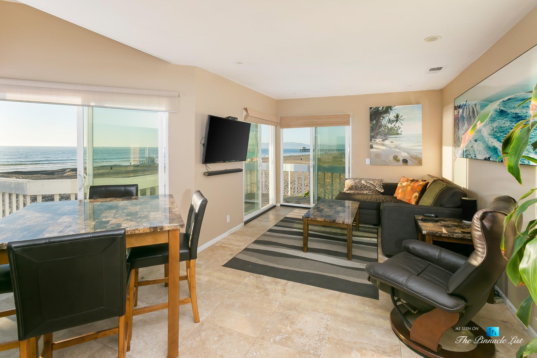 3500 The Strand, Hermosa Beach, CA, USA - Living Room – Luxury Real Estate – Original 90210 Beach House - Oceanfront Home