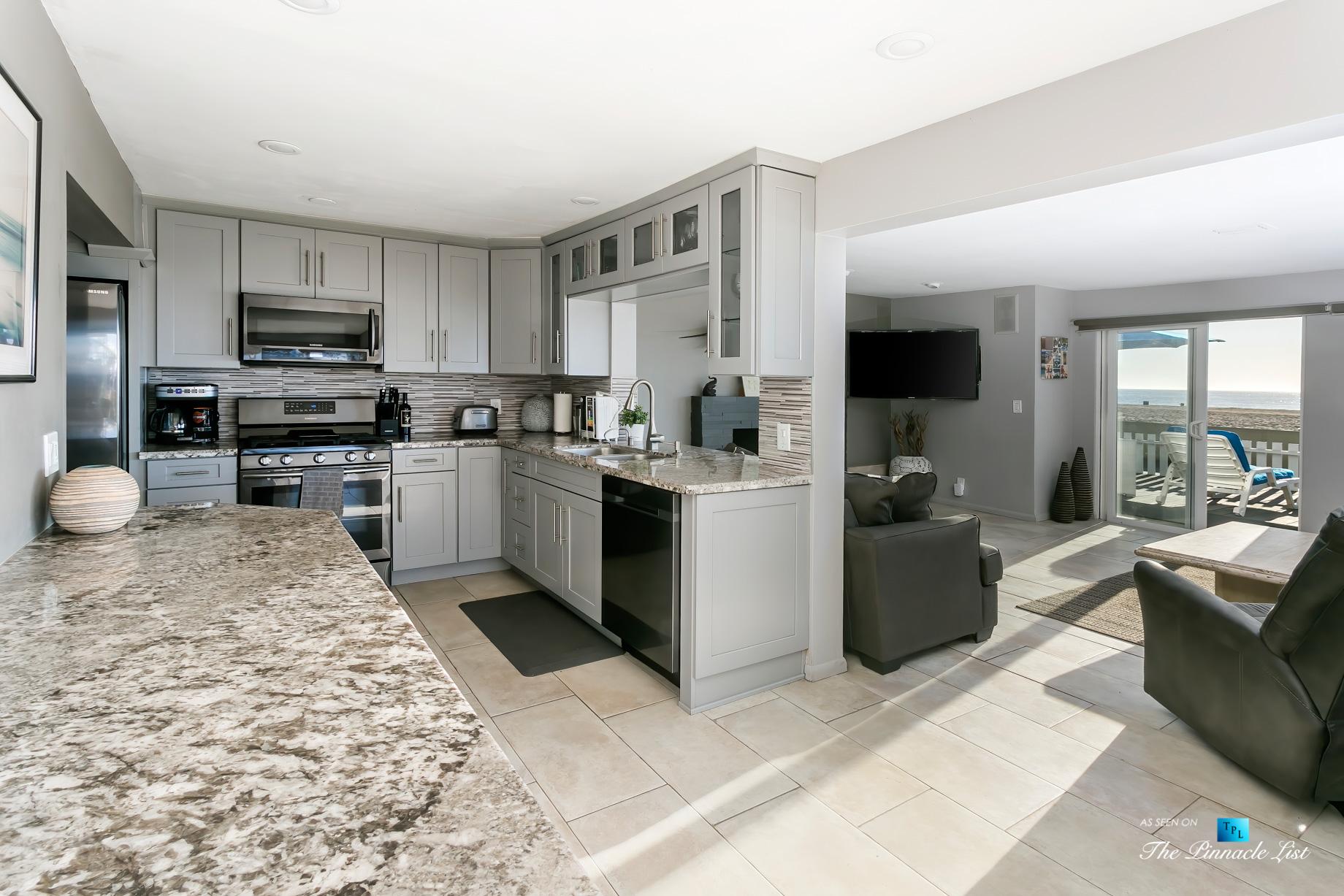 3500 The Strand, Hermosa Beach, CA, USA – Kitchen – Luxury Real Estate – Original 90210 Beach House – Oceanfront Home