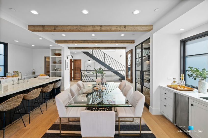 508 The Strand, Manhattan Beach, CA, USA - Dining Room and Kitchen - Luxury Real Estate - Oceanfront Home