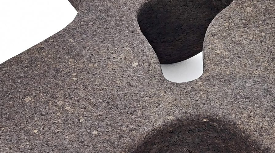 Fluid and Organic Limited Edition Quark Cork Coffee Table Series