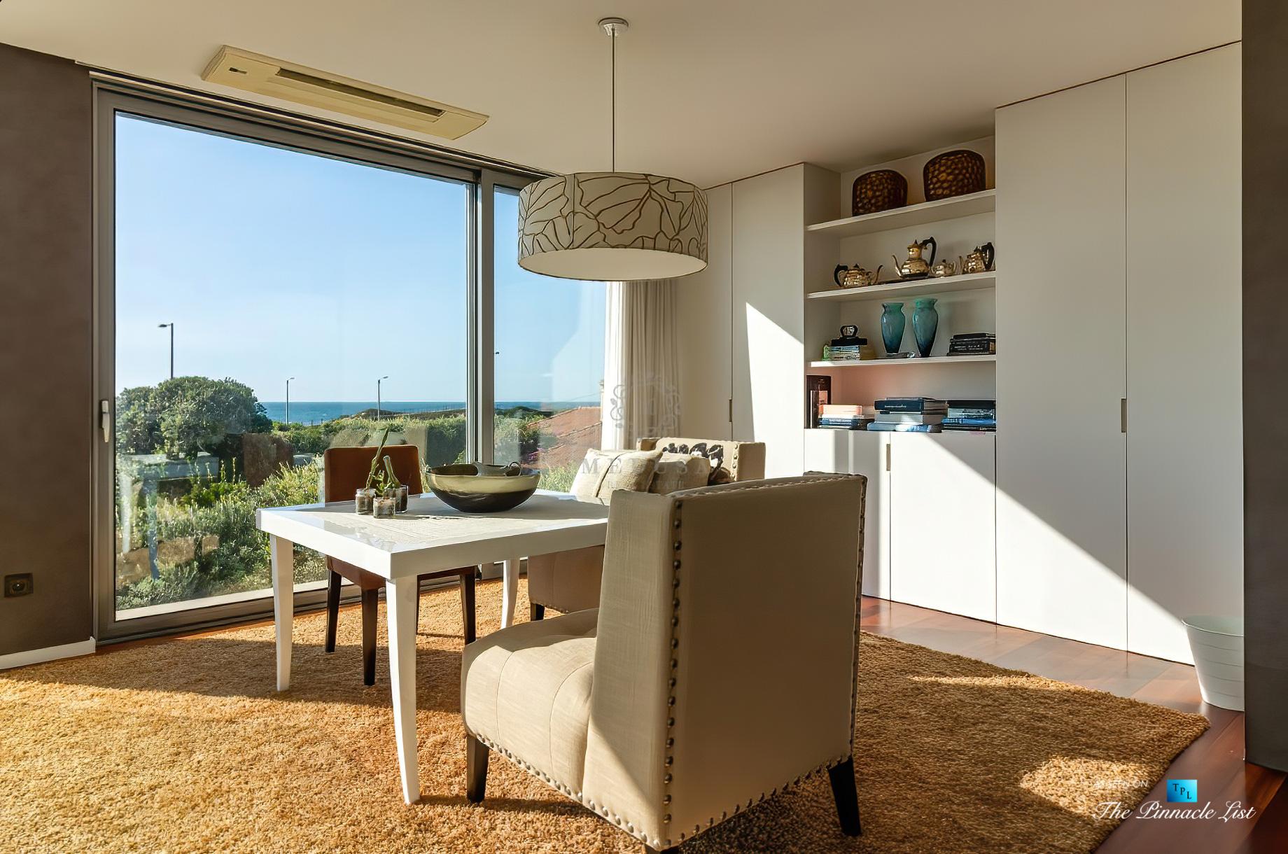 Francelos Beach Luxury T5 Villa - Porto, Portugal - Sitting Area Ocean View - Luxury Real Estate – Modern Home