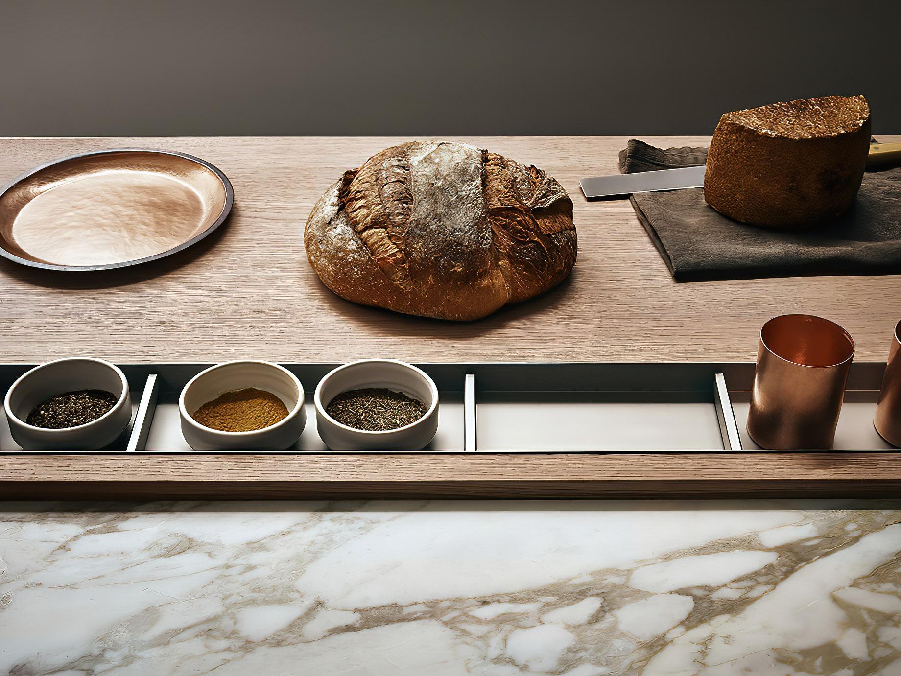 K-lab Contemporary Kitchen Ernestomeda Italy – Giuseppe Bavuso – Cook Chopping Board
