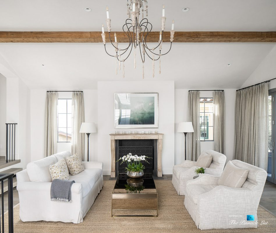 220 8th St, Manhattan Beach, CA, USA - Luxury Real Estate - Ocean View Dream Home - Living Room