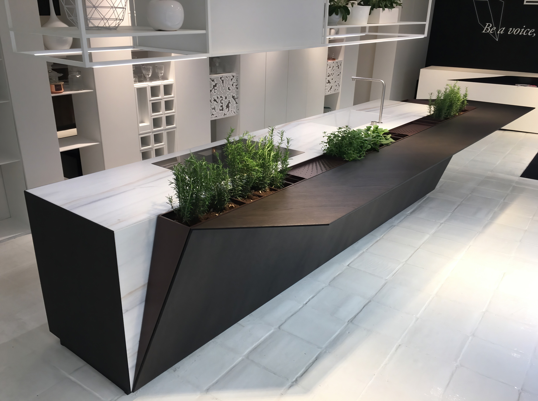 EGO Kitchen The Cut by Record è Cucine Milan, Italy – Alessandro Isola