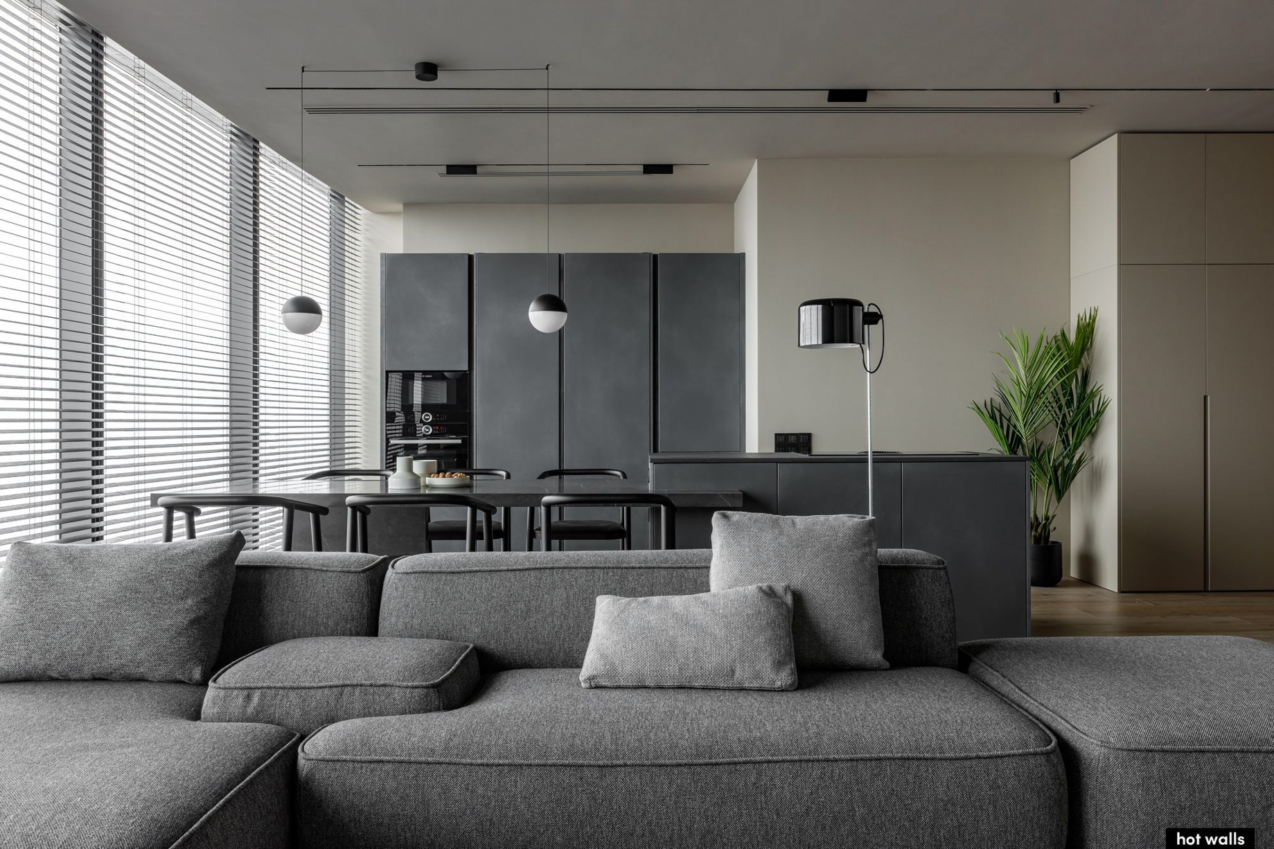 Federation Tower 79th Floor Apartment Interior Moscow, Russia – Hot Walls
