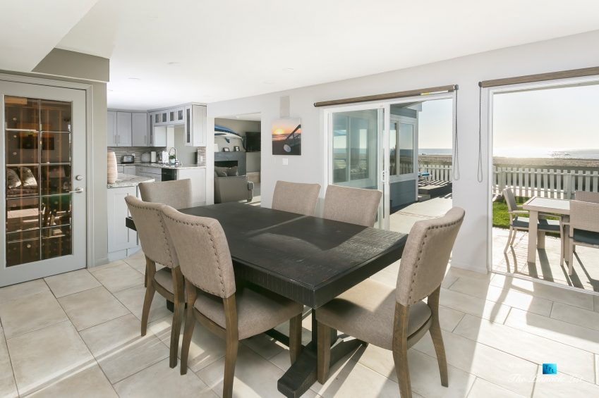 3500 The Strand, Hermosa Beach, CA, USA - Kitchen and Dining Area – Luxury Real Estate – Original 90210 Beach House - Oceanfront Home