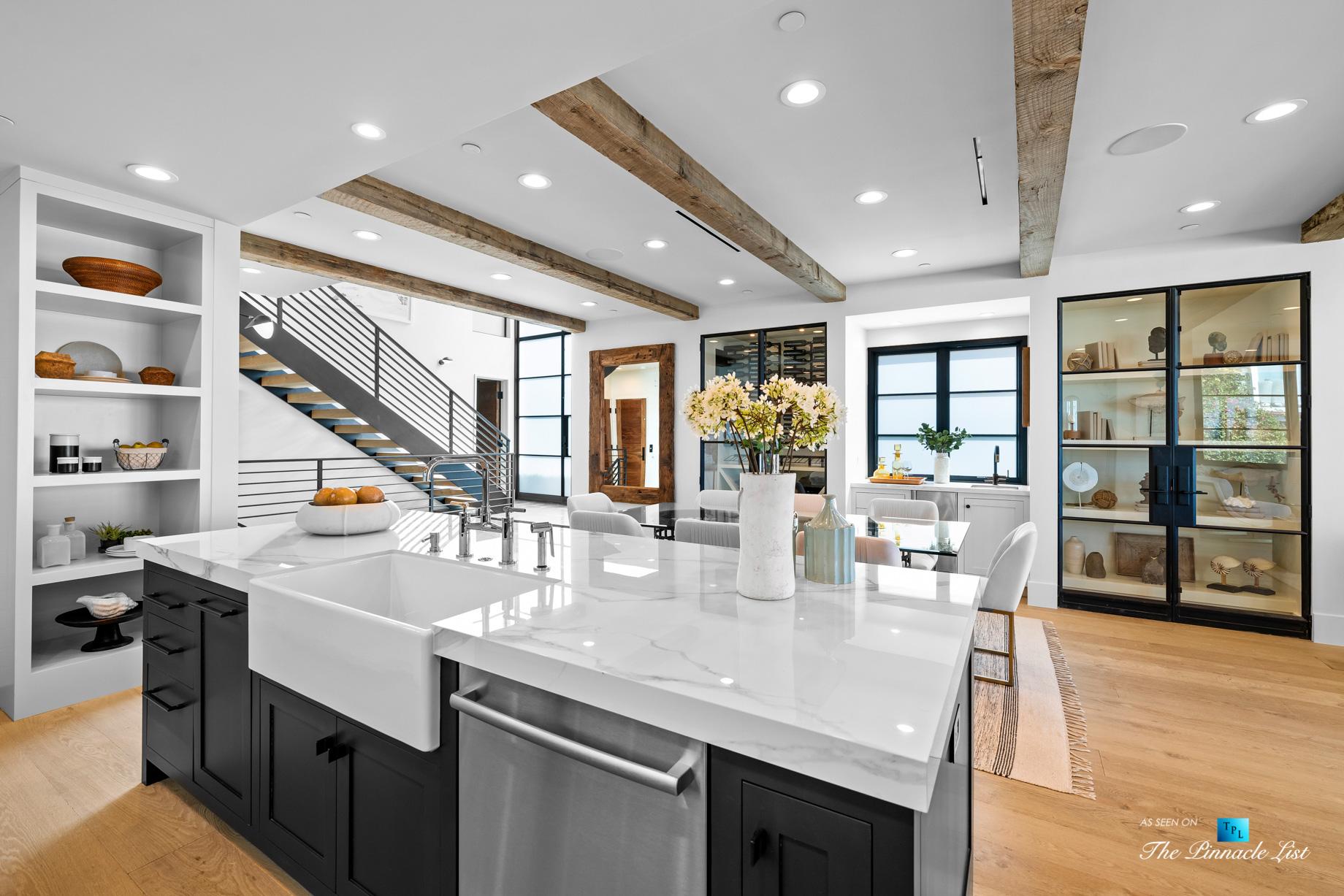 508 The Strand, Manhattan Beach, CA, USA – Kitchen Island – Luxury Real Estate – Oceanfront Home