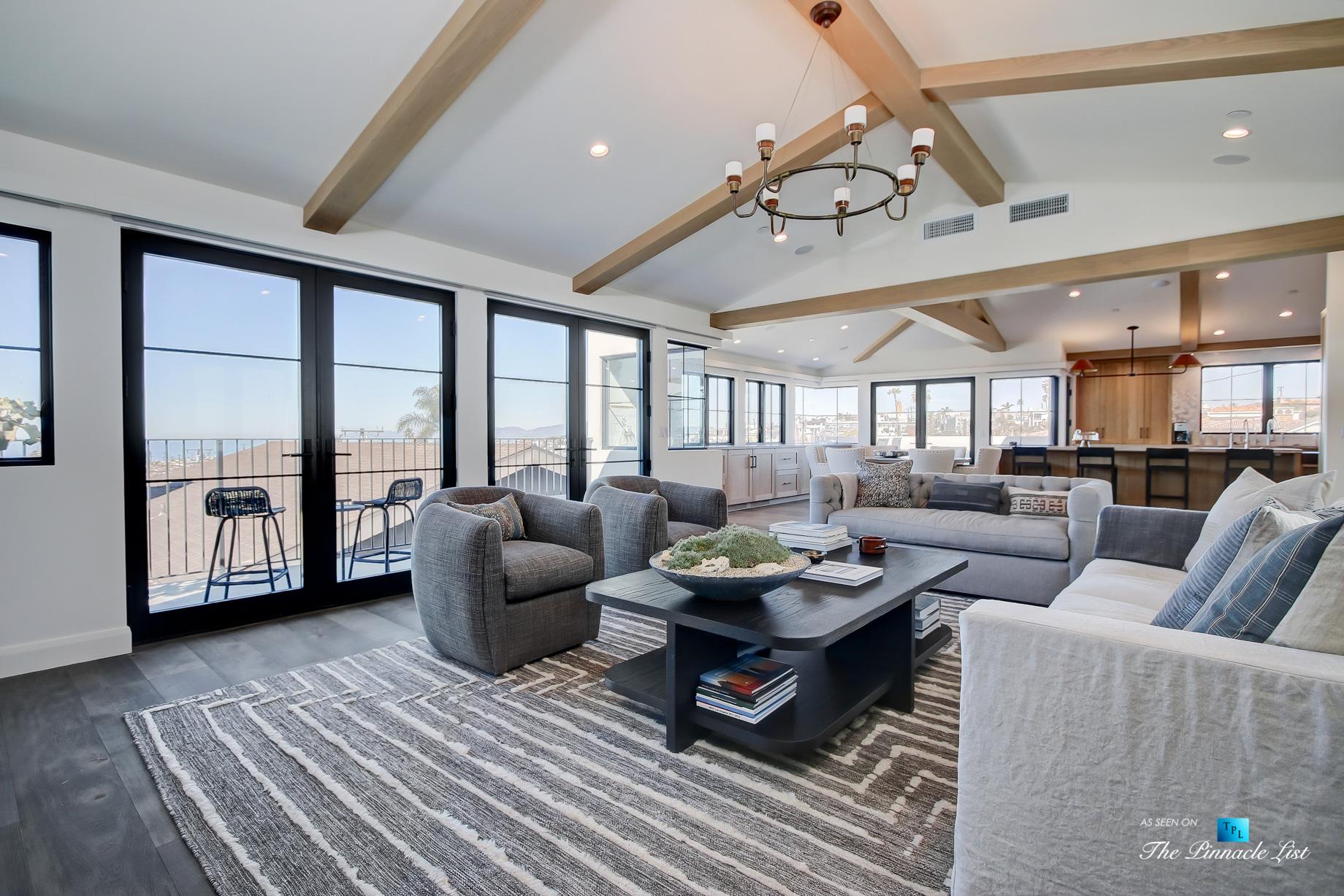 825 Highview Ave, Manhattan Beach, CA, USA – Living Room and Kitchen – Luxury Real Estate – Modern Spanish Home