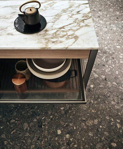 K-lab Contemporary Kitchen Ernestomeda Italy - Giuseppe Bavuso - K-System Base Unit
