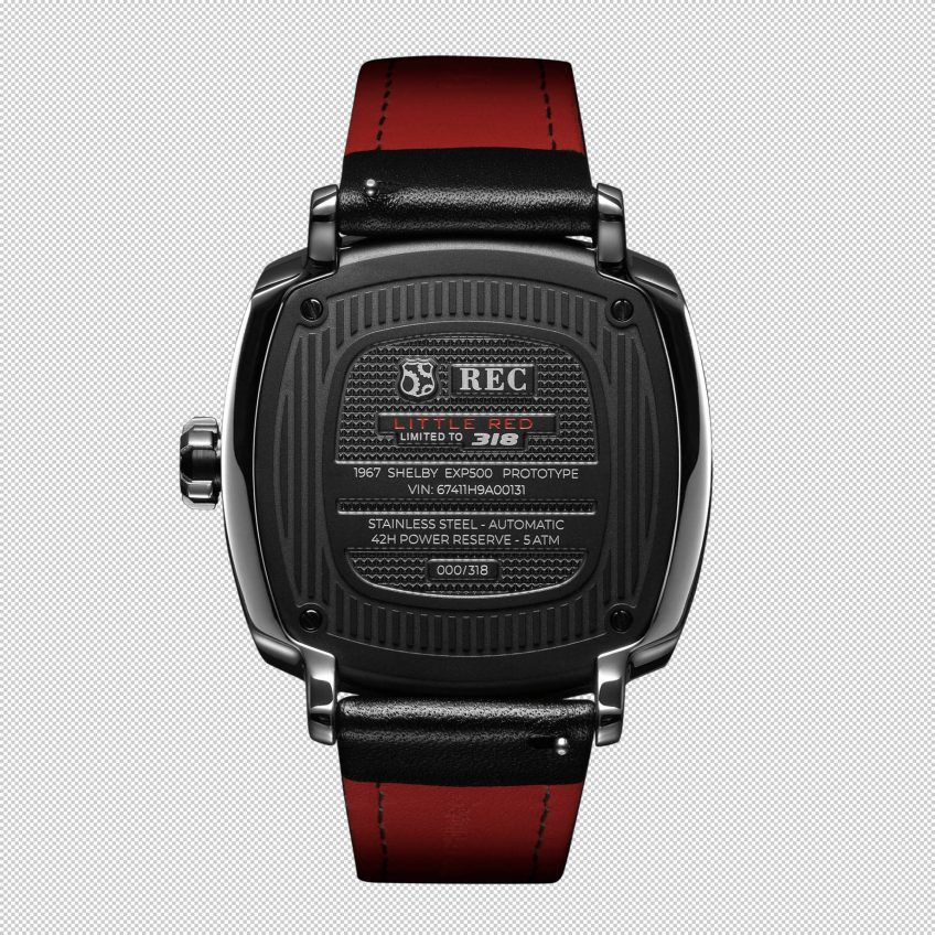 P-51 Little Red Limited Collection - REC Watches