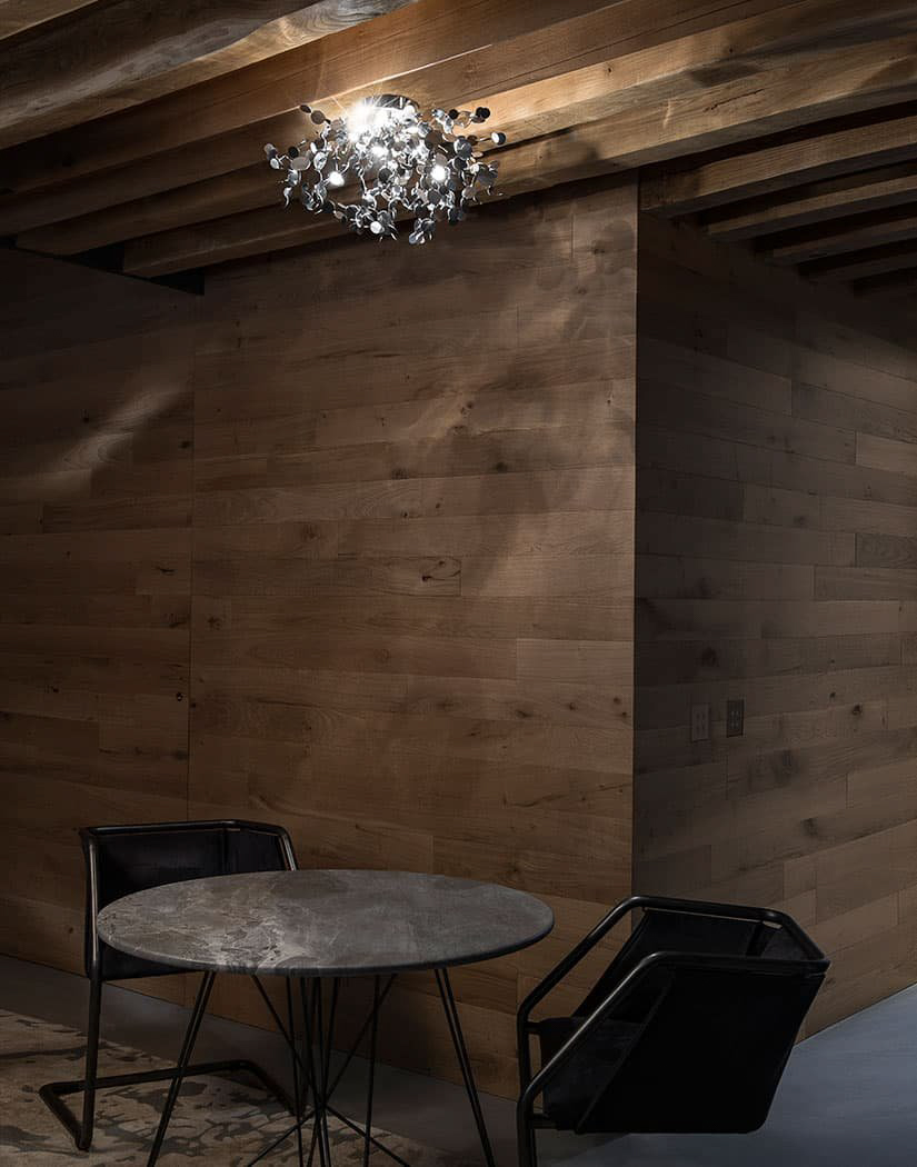 A Precious Cloud Sculpture of Light – Argent Fixtures by Terzani Lighting Italy – Suspension Light