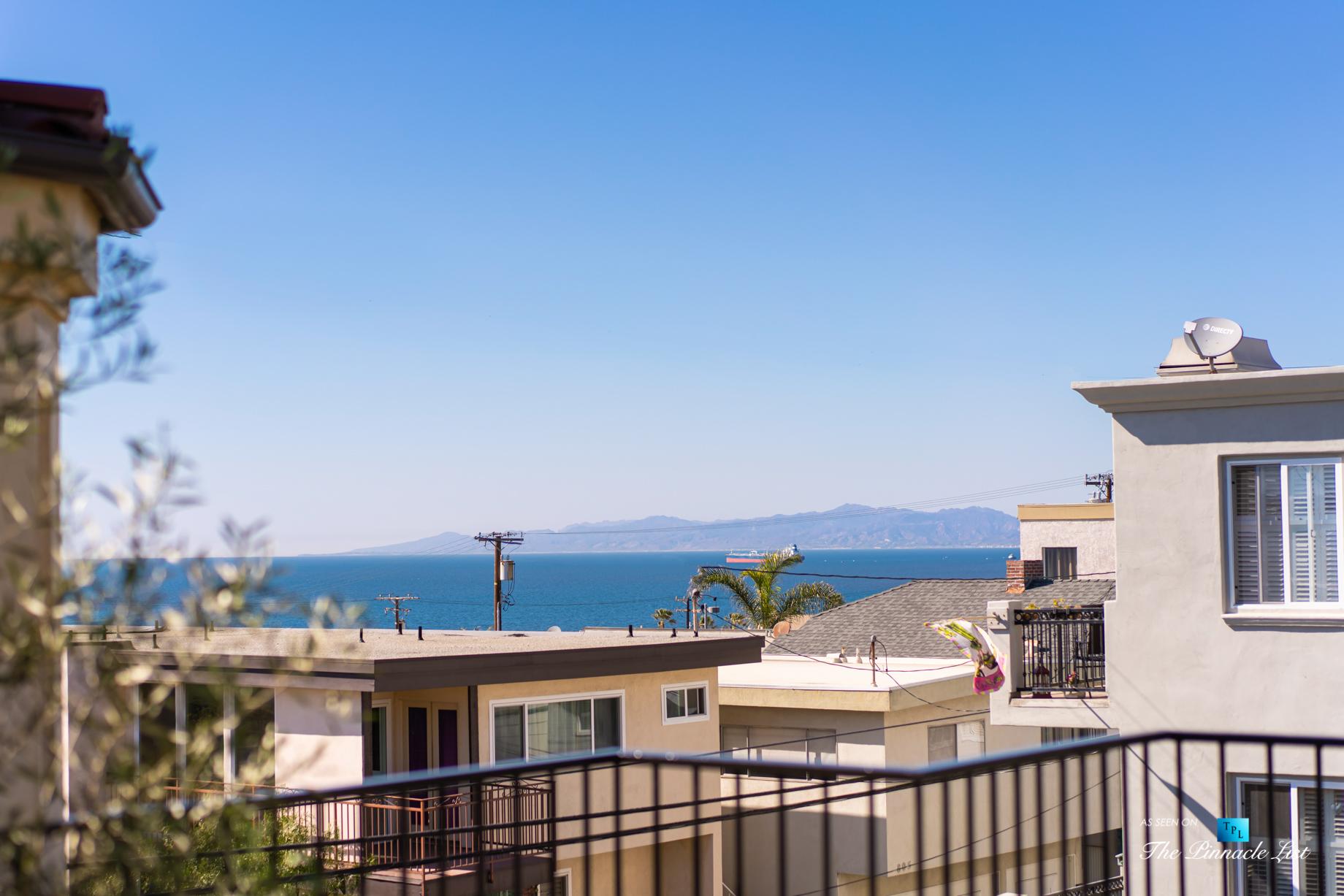 220 8th St, Manhattan Beach, CA, USA - Luxury Real Estate - Ocean View Dream Home - Top Floor Deck View