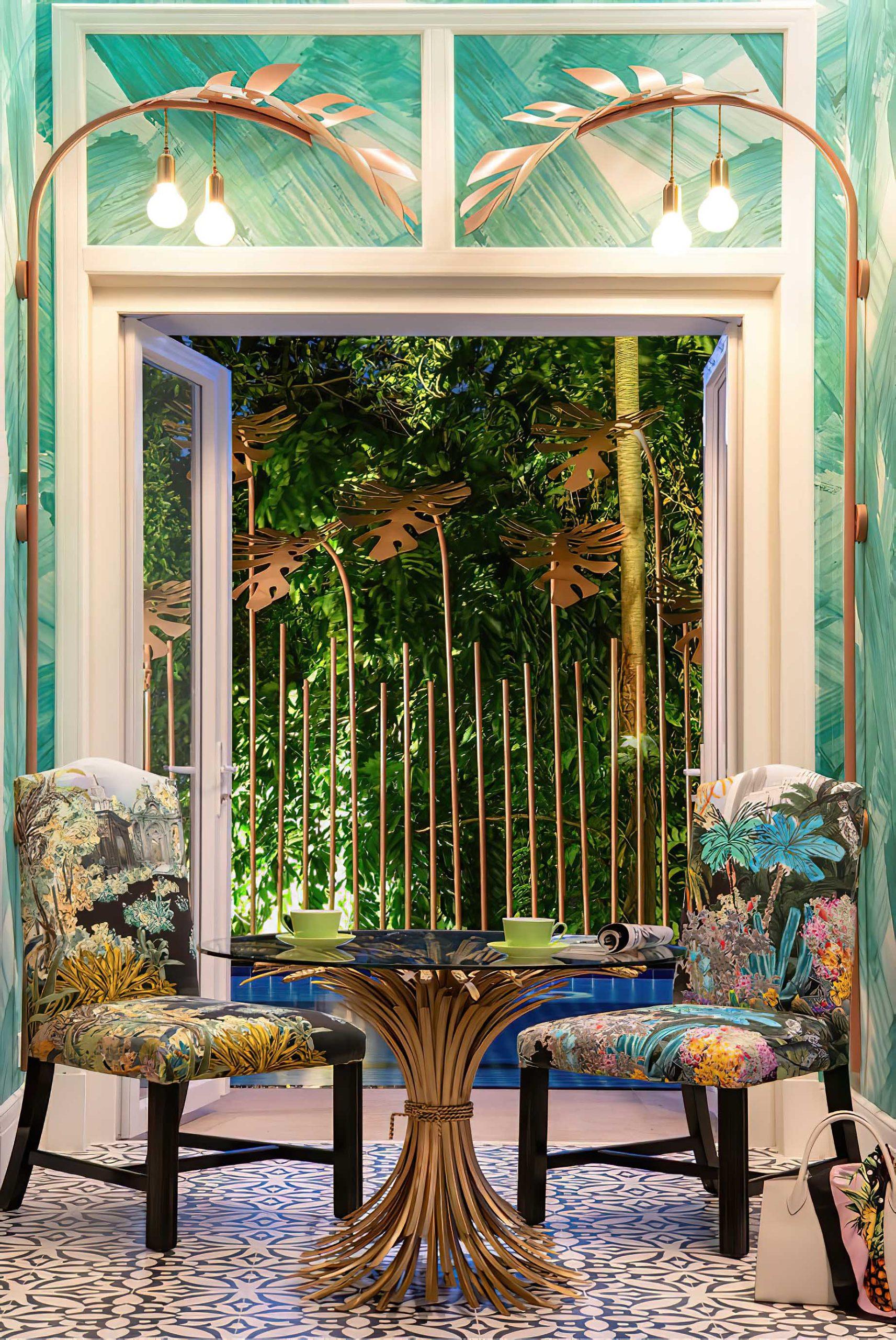 Tropical Maximalist Home Interior Singapore - Design Intervention