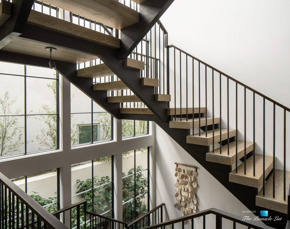 a220 8th St, Manhattan Beach, CA, USA - Luxury Real Estate - Ocean View Dream Home - Open Stairs