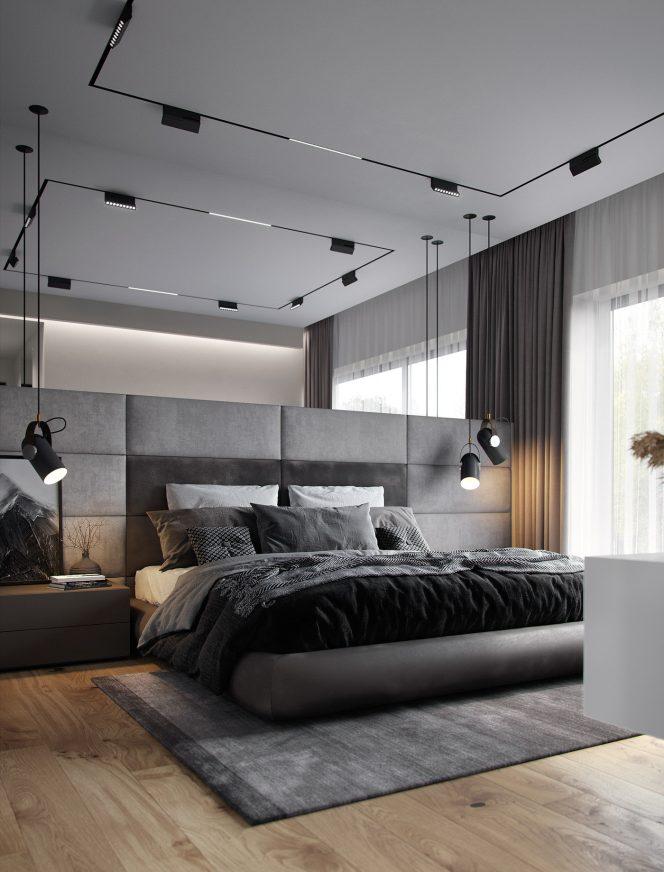 House JK Park Rublevo Interior Design Moscow, Russia - Strong Design
