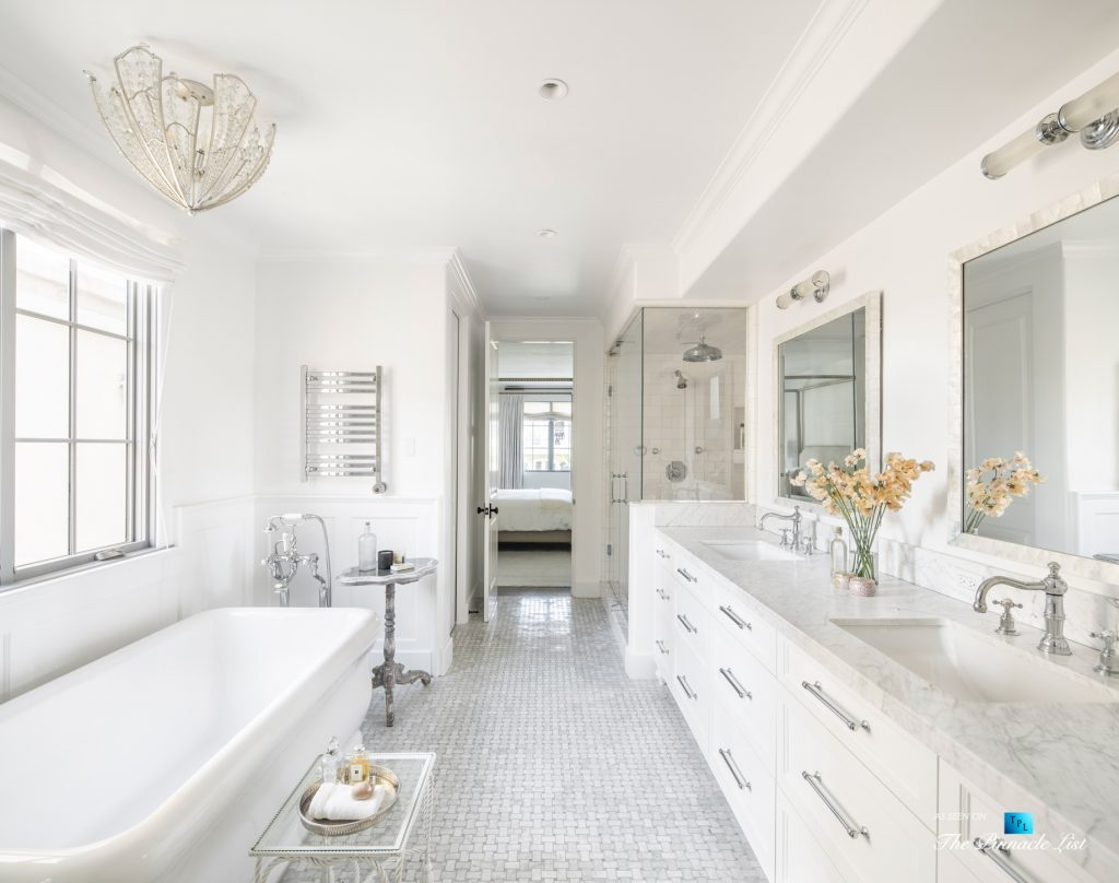 220 8th St, Manhattan Beach, CA, USA - Luxury Real Estate - Ocean View Dream Home - Master Bathroom