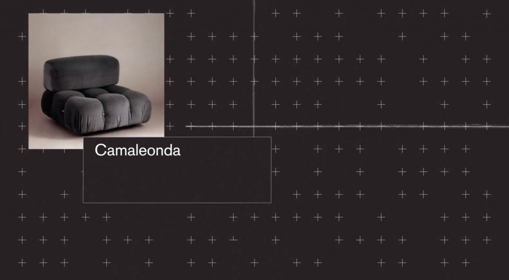 Camaleonda Classic Sofa Collection B&B Italia - Mario Bellini - Camaleonda