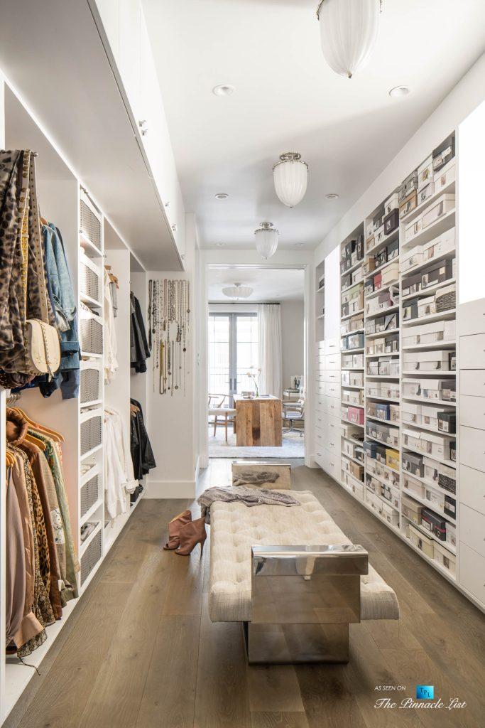 a220 8th St, Manhattan Beach, CA, USA - Luxury Real Estate - Ocean View Dream Home - Master Bedroom Walk In Closet