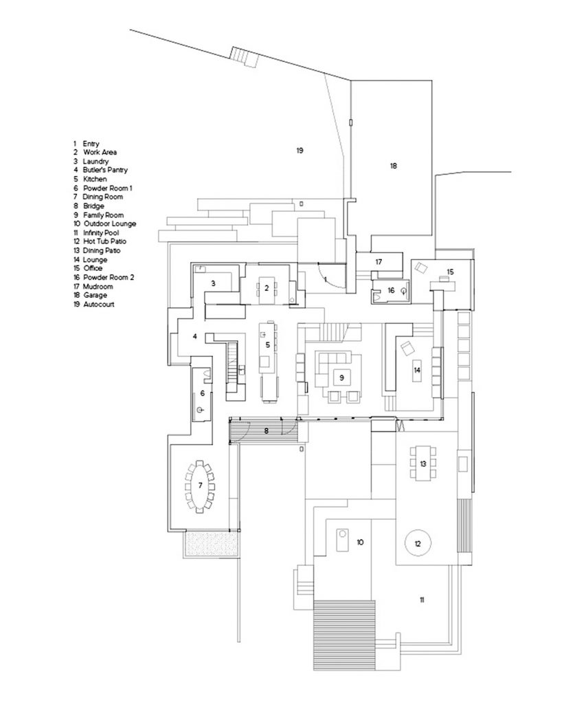 Floor Plans - Groveland Road House Luxury Modern - West Vancouver, BC, Canada