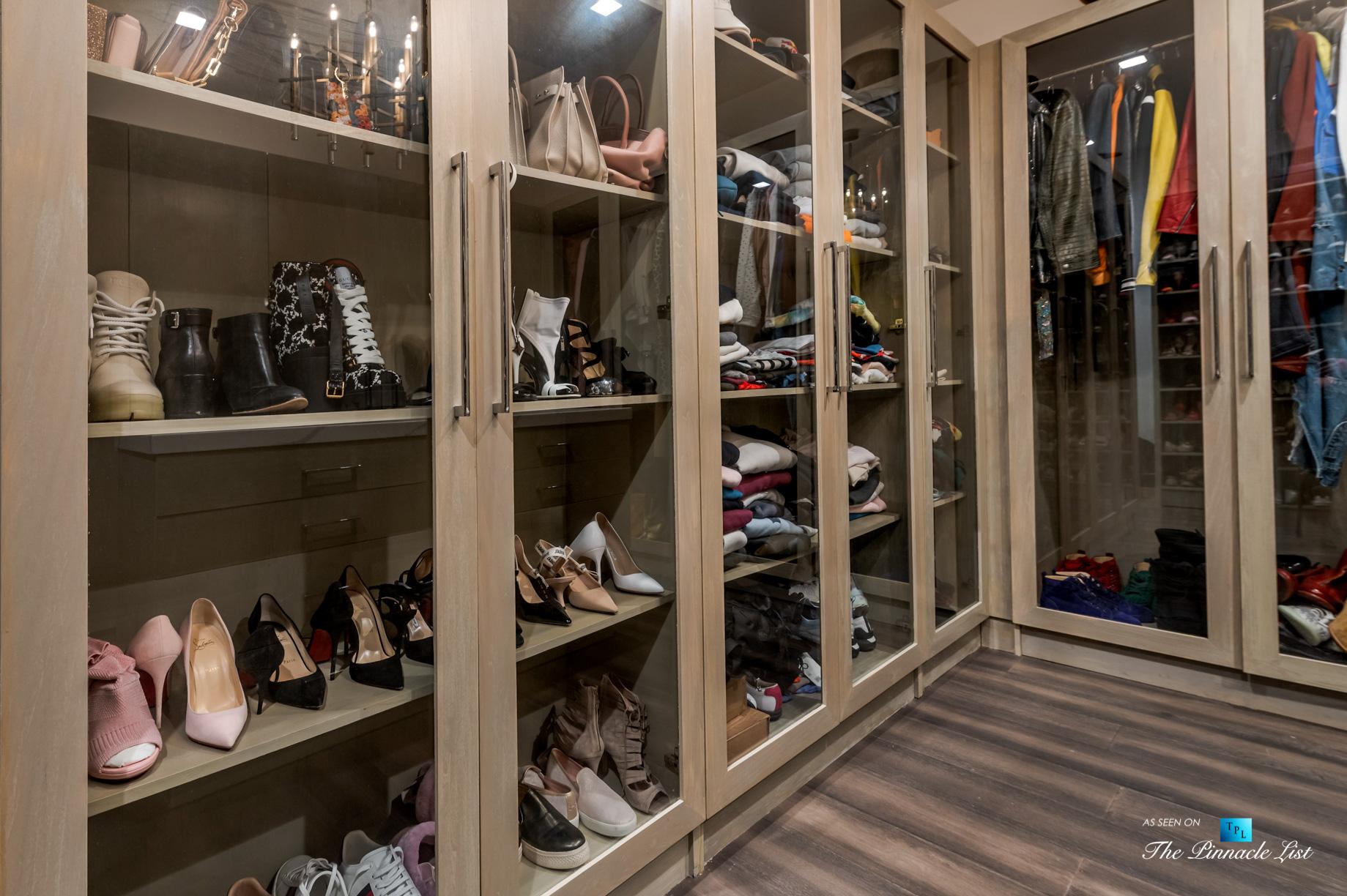 2720 Ellison Dr, Beverly Hills, CA, USA – Master Wardrobe Room – Luxury Real Estate – Italian Villa Hilltop Home