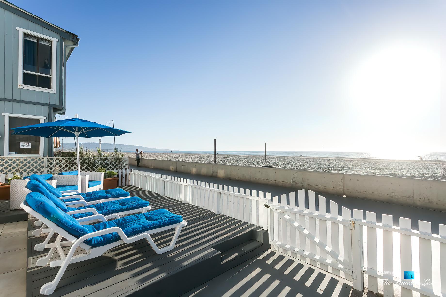 3500 The Strand, Hermosa Beach, CA, USA – Beachfront Sundeck – Luxury Real Estate – Original 90210 Beach House – Oceanfront Home