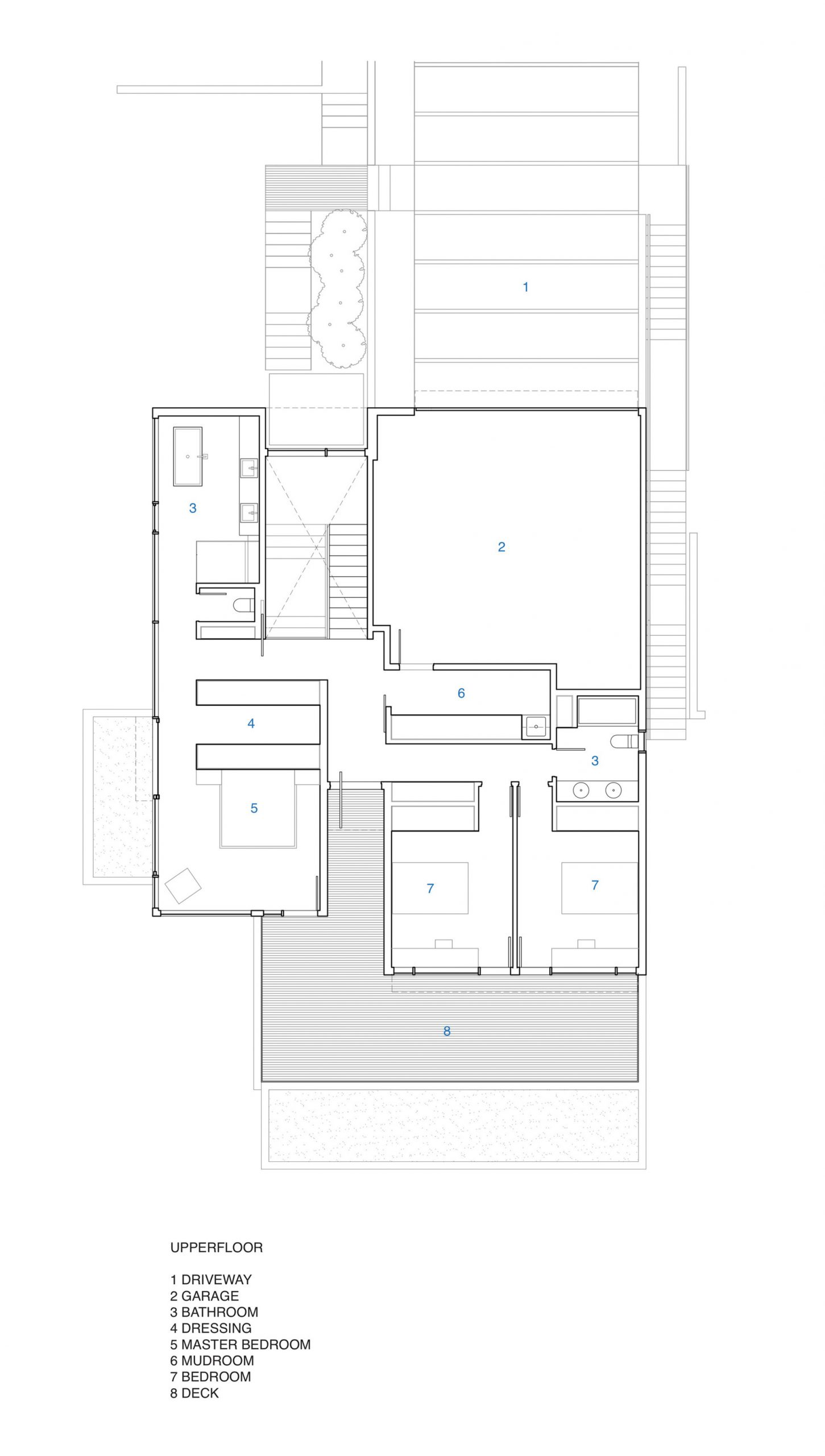 Floor Plans – Russet Residence Modern Luxury – Russet Pl, West Vancouver, BC, Canada