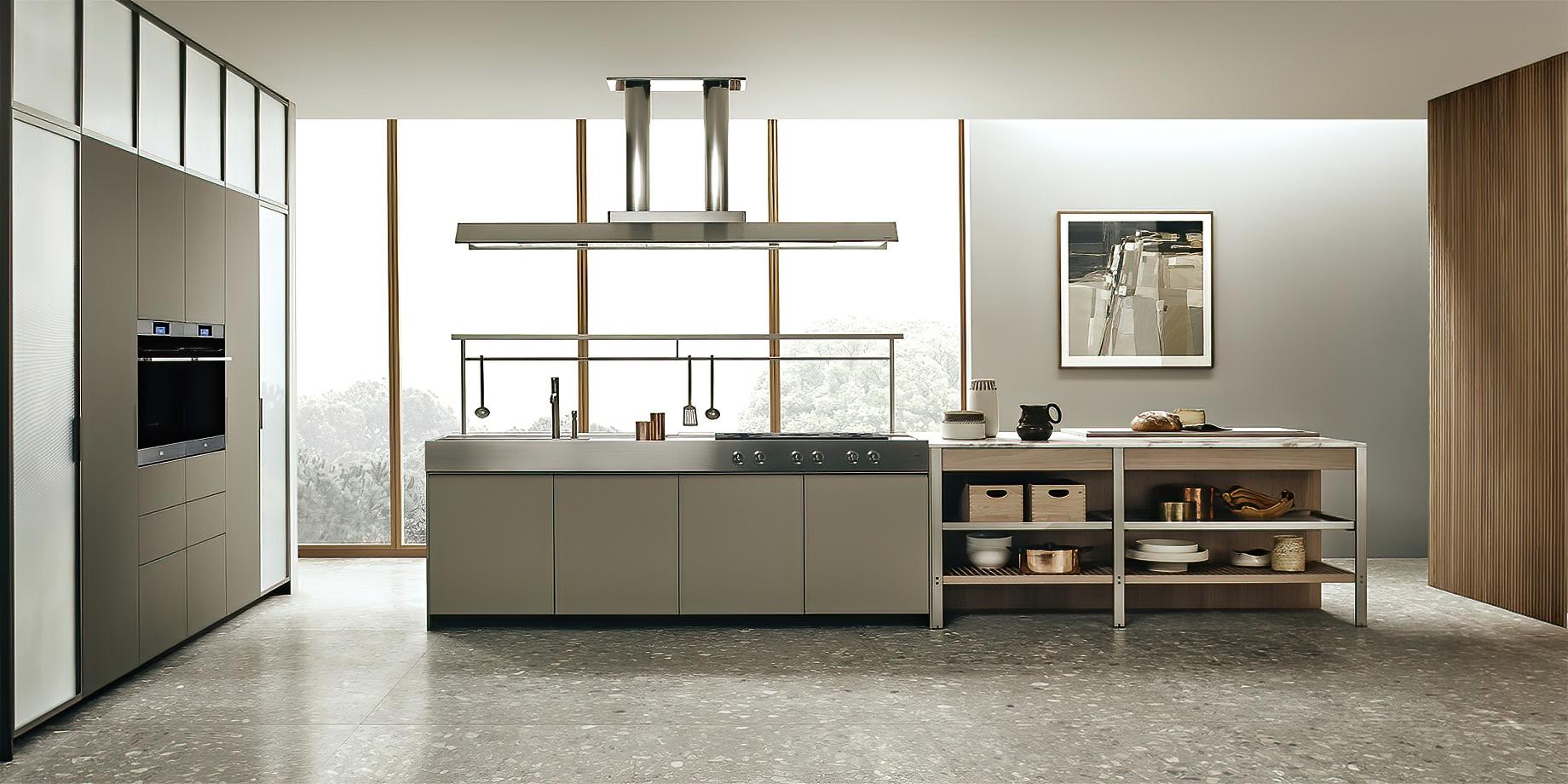 K-lab Contemporary Kitchen Ernestomeda Italy – Giuseppe Bavuso – K-lab Italian Kitchen