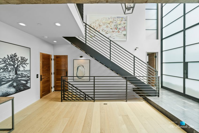 508 The Strand, Manhattan Beach, CA, USA - House Entry Stairs - Luxury Real Estate - Oceanfront Home