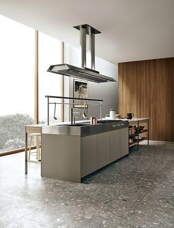 K-lab Contemporary Kitchen Ernestomeda Italy - Giuseppe Bavuso - Planet Hood