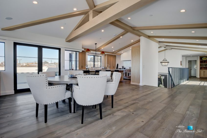825 Highview Ave, Manhattan Beach, CA, USA - Dining Room and Kitchen - Luxury Real Estate - Modern Spanish Home