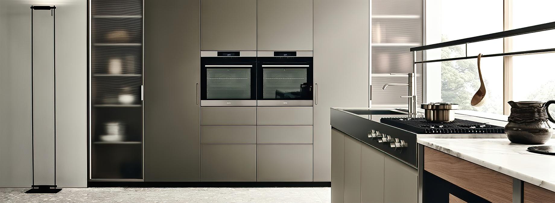 K-lab Contemporary Kitchen Ernestomeda Italy – Giuseppe Bavuso – METALLIX