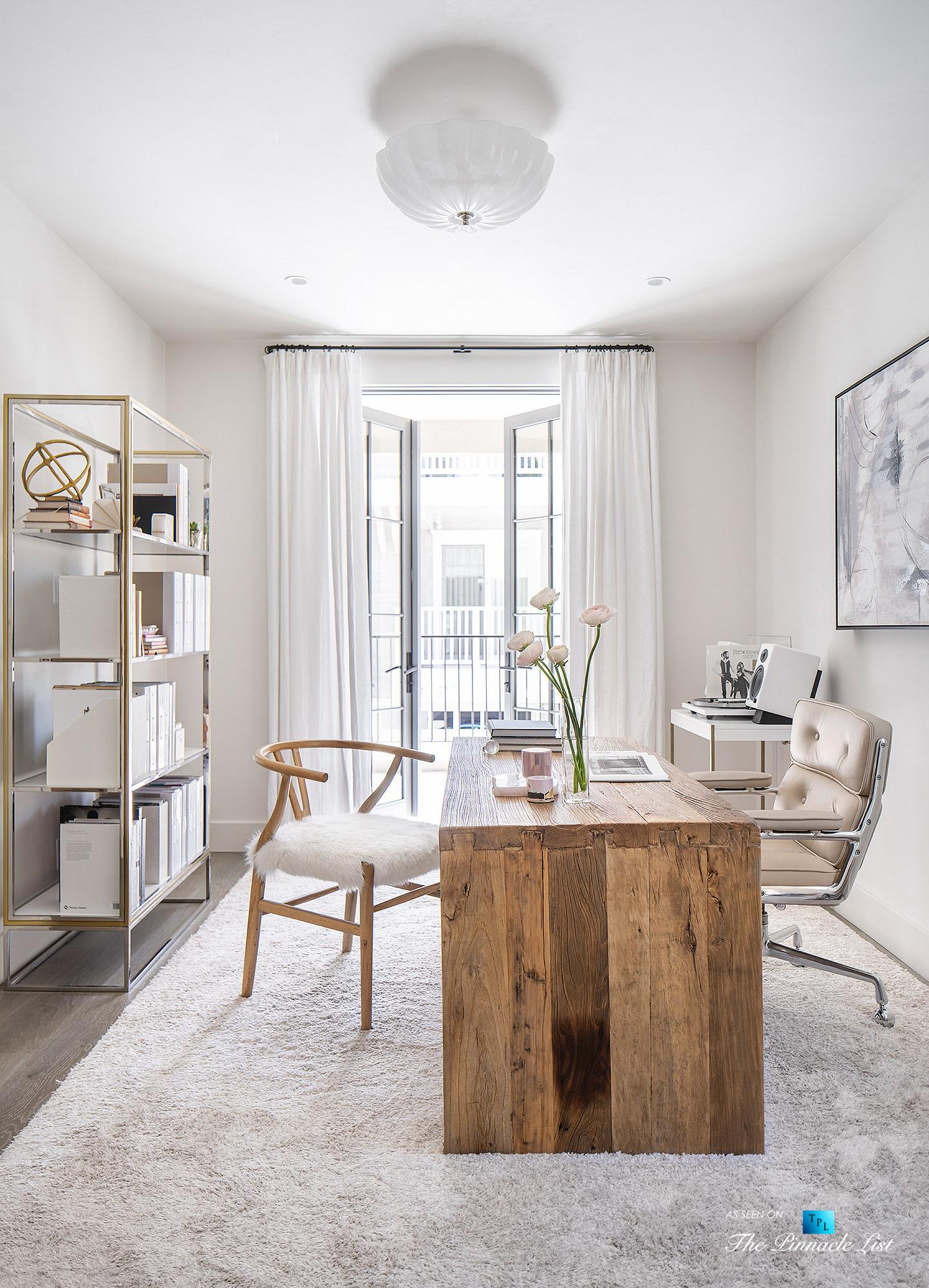 220 8th St, Manhattan Beach, CA, USA – Luxury Real Estate – Ocean View Dream Home – Office
