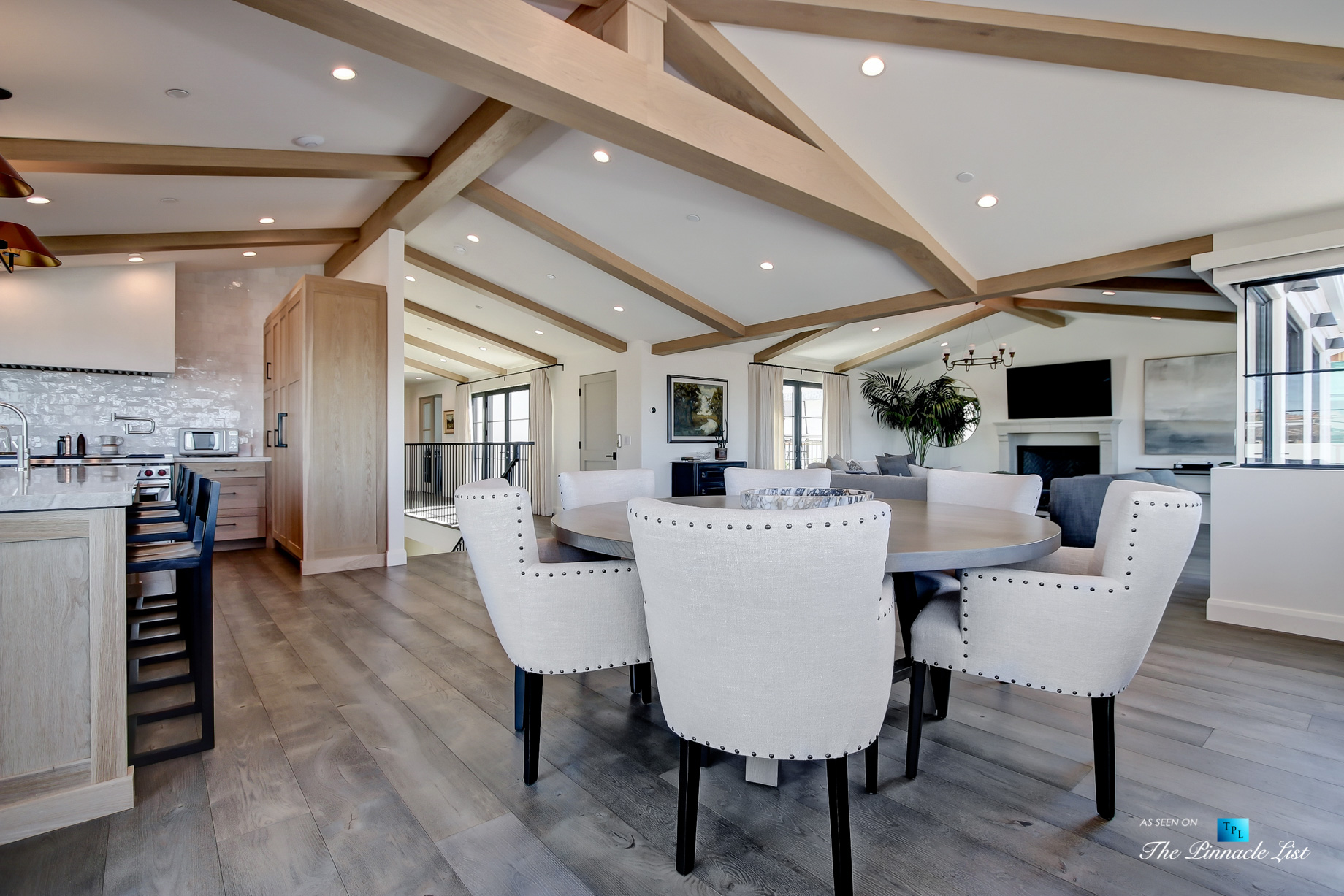825 Highview Ave, Manhattan Beach, CA, USA – Dining Room and Kitchen – Luxury Real Estate – Modern Spanish Home