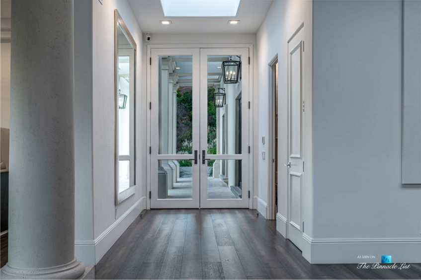 2720 Ellison Dr, Beverly Hills, CA, USA - Front Entrance Door - Luxury Real Estate - Italian Villa Hilltop Home