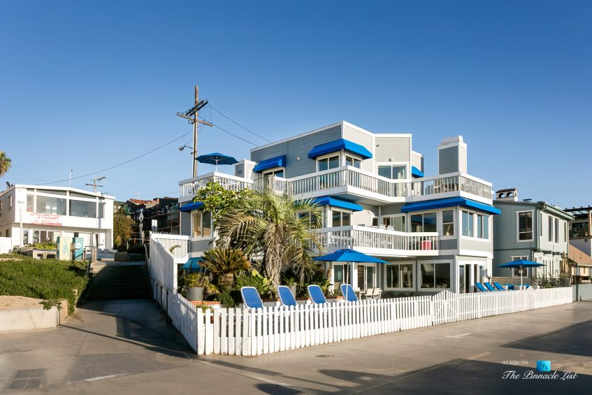 3500 The Strand, Hermosa Beach, CA, USA - Beachfront Decks and Patios – Luxury Real Estate – Original 90210 Beach House - Oceanfront Home