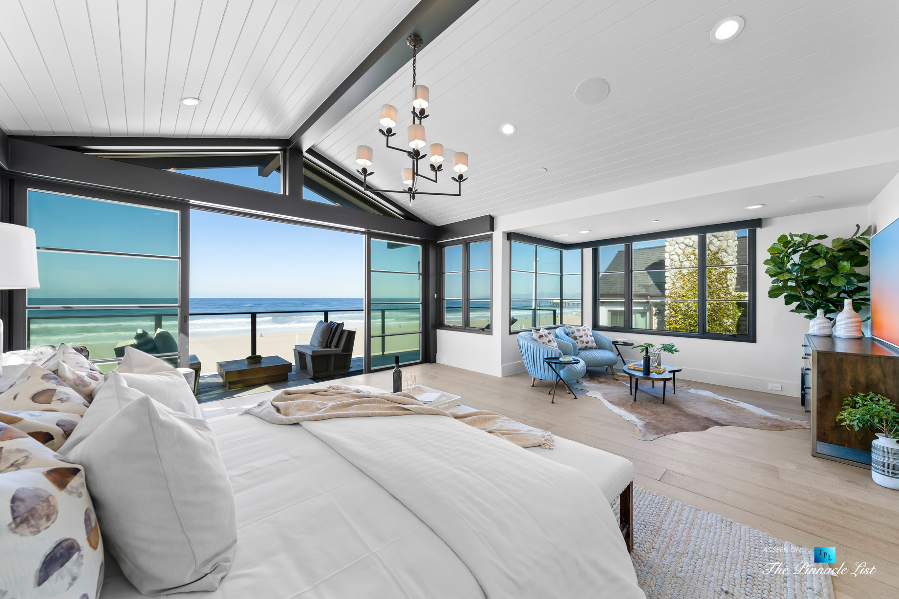 508 The Strand, Manhattan Beach, CA, USA – Master Bedroom Suite – Luxury Real Estate – Oceanfront Home
